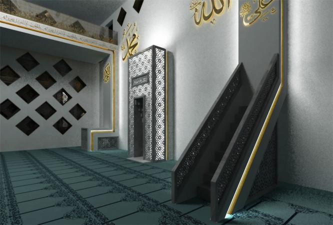 M3 architekten moschee esslingen for Innenarchitektur esslingen