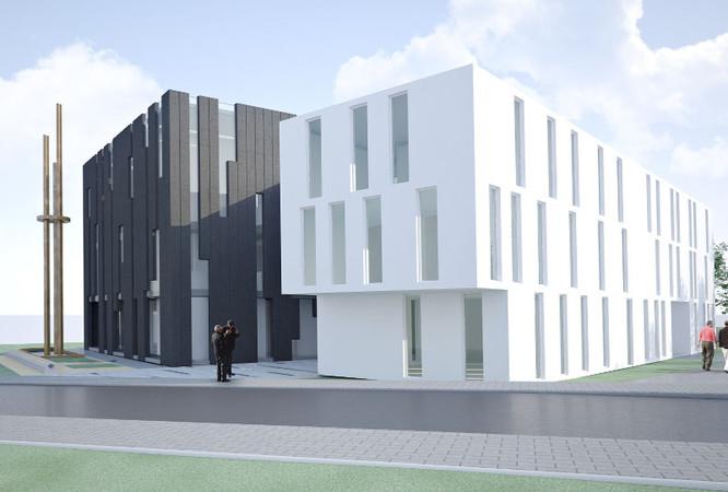 m3 architekten moschee auf den fildern. Black Bedroom Furniture Sets. Home Design Ideas